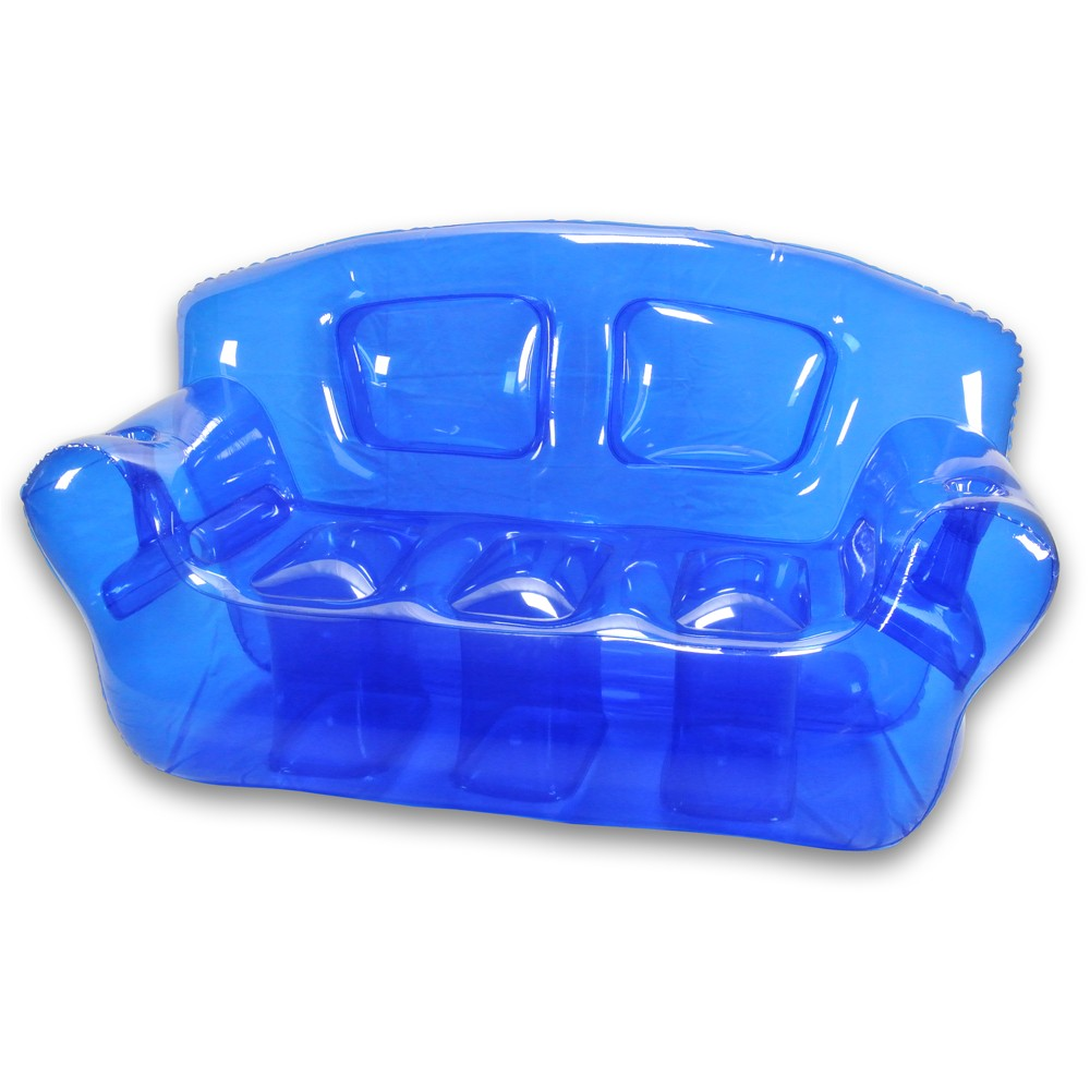 Vibrant inflatable bubble couch