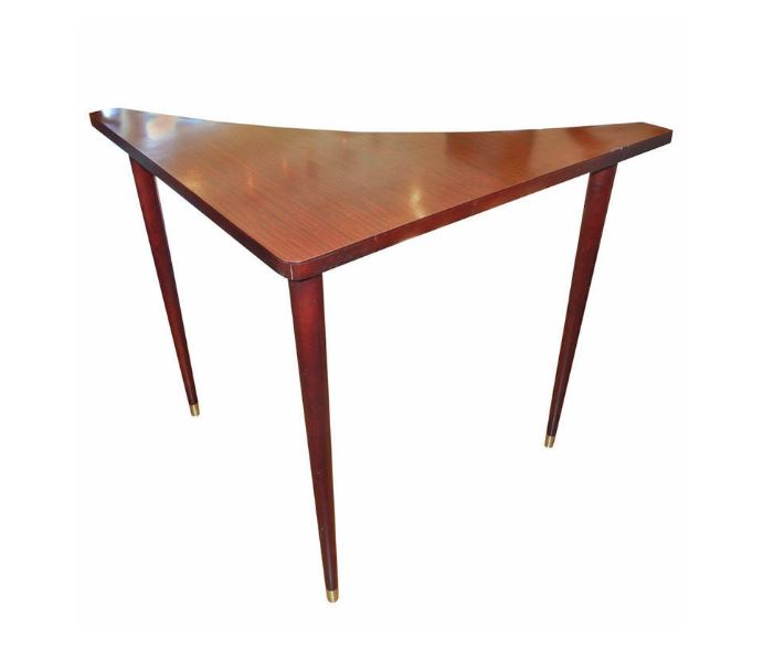 Vintage corner table from 1stdibs dealer Pamela Lerner