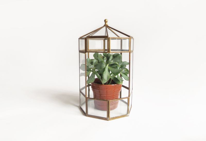 Vintage terrarium from Etsy shop Moineau