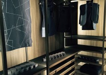 Walk-in wardrobe system from MisuraEmme