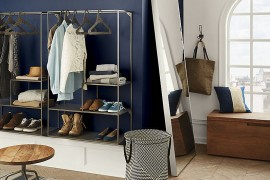 Wall-mounted shelving from CB2