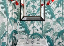 Wall-sconce-add-a-pop-of-red-to-the-delightful-powder-room-217x155