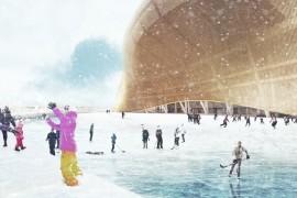Washington Redskins stadium ice rink