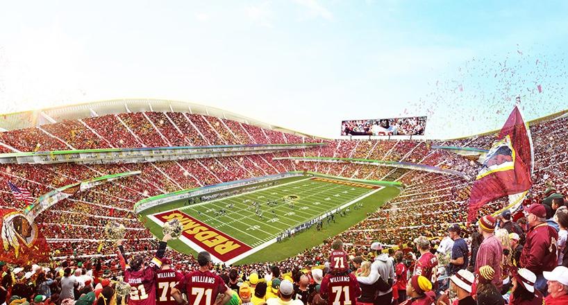 Washington Redskins stadium