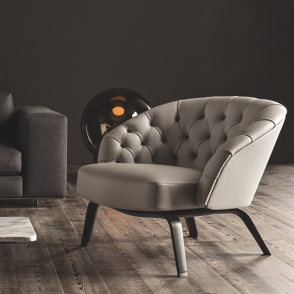 Winston armchair leather