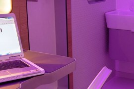 Yotel in-room work area