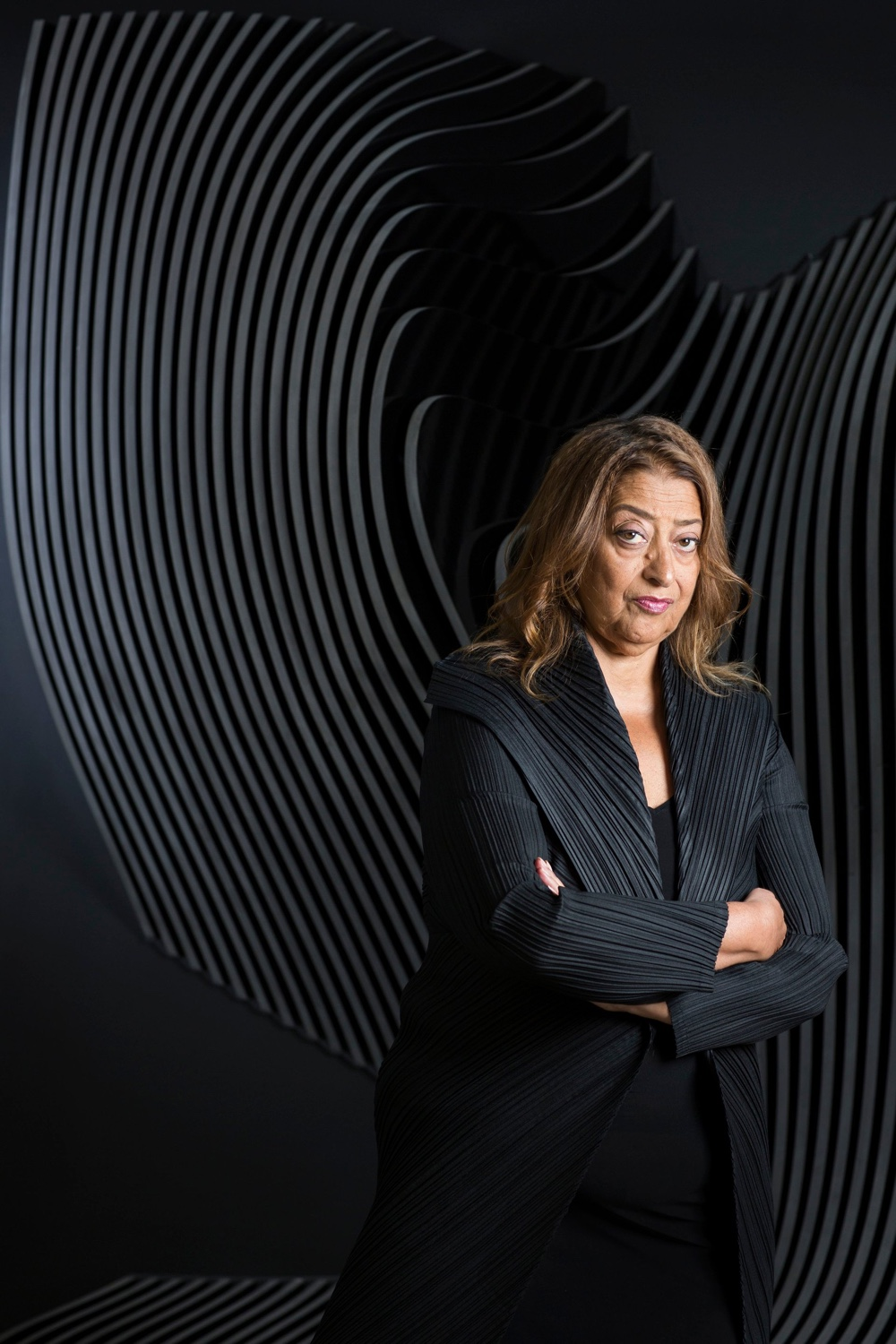 Zaha Hadid photographed by David Levene