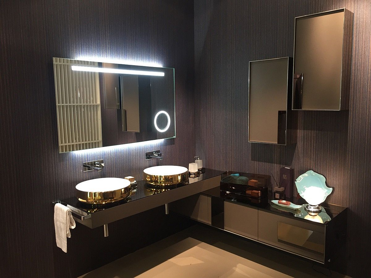 inda bathrooms at Salone del Mobile 2016