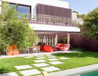 A World of Green: Cheerful São Paulo Residence with Vibrant Pops of Color