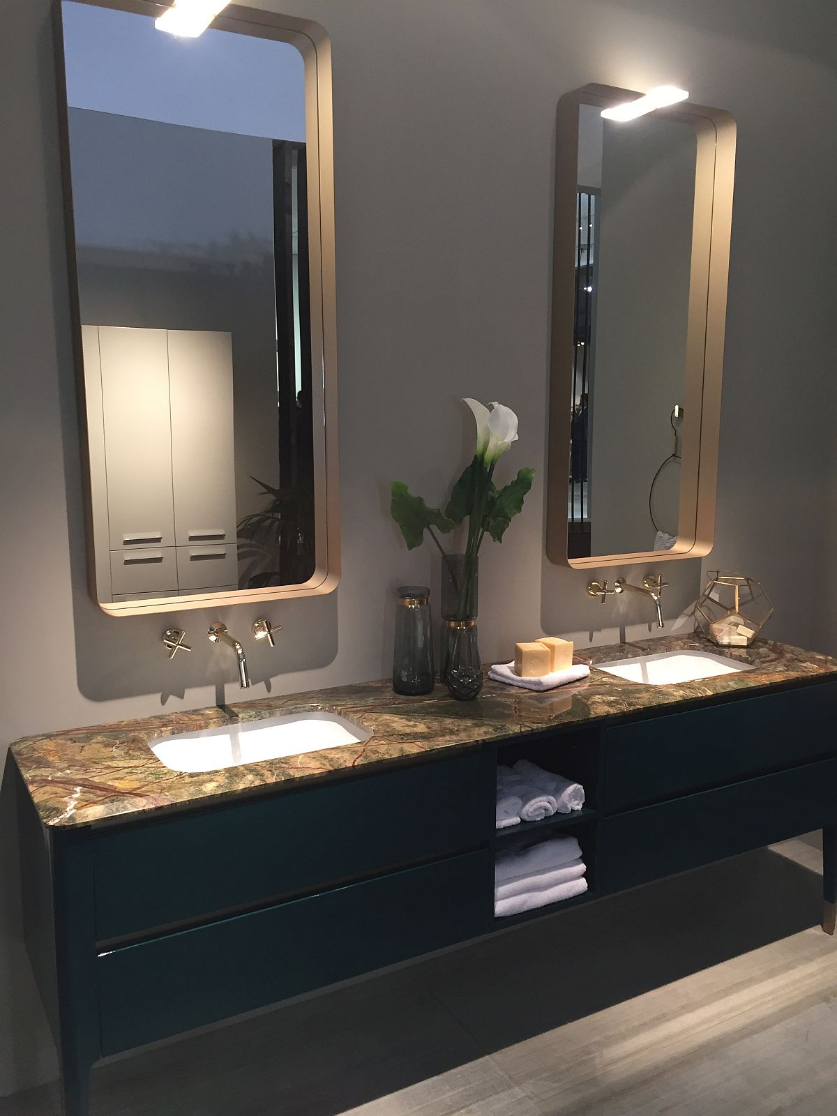 ART presented by Puntotre Bathrooms at Salone del Mobile 2015
