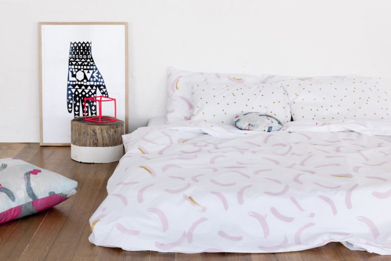Abstract bedding from Feliz