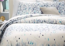 Abstract bedding from West Elm