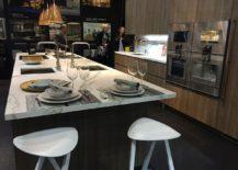 Adaptable contemporary kitchen design by Leicht