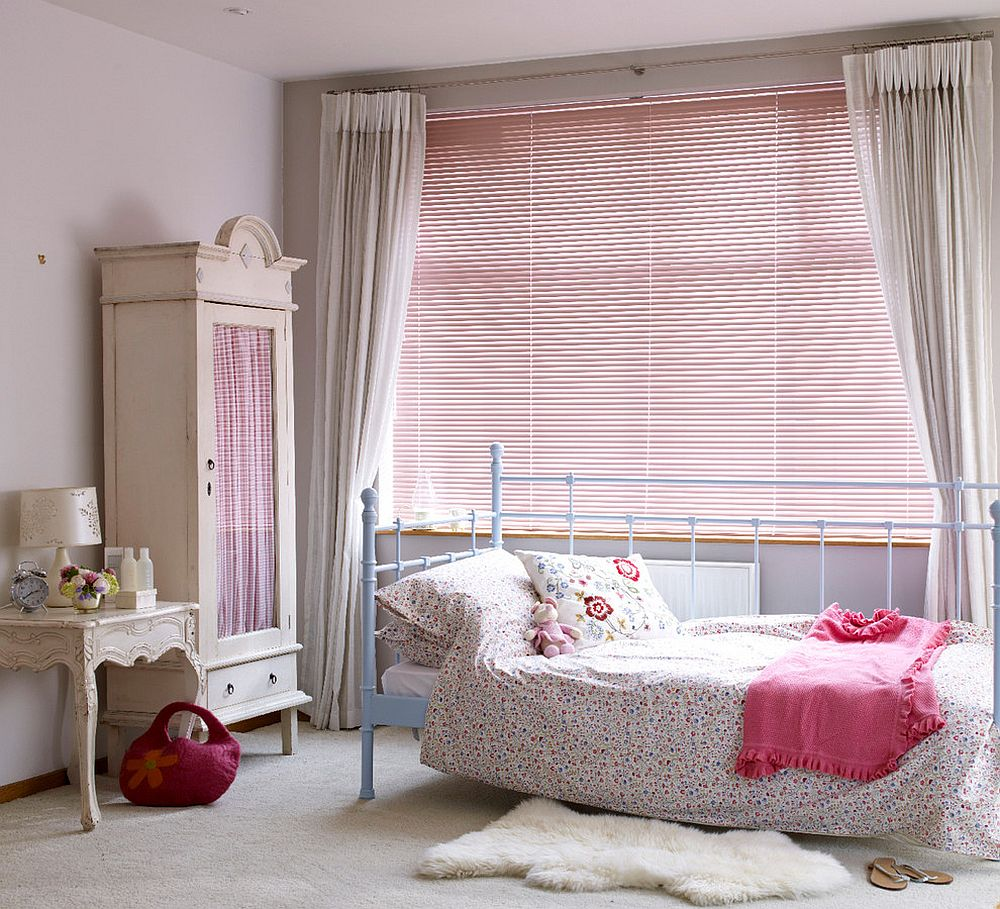 Add something old and distressed for that cool shabby chic look [Design: Hillarys]