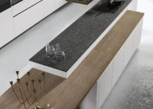 Adjustable and adaptable woodedn worktop for the Look Kitchen