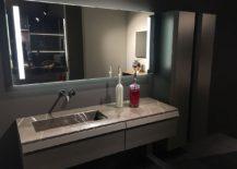 Bathroom design and decor idea for those who love gray
