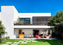 Beautiful private residence in São Paulo, Brazil connected with the natural greenery around it
