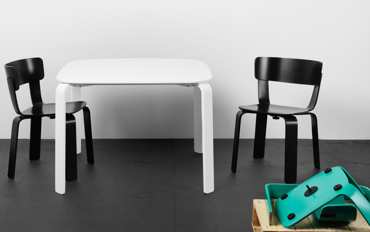 Bento chair designed by Form Us With Love.