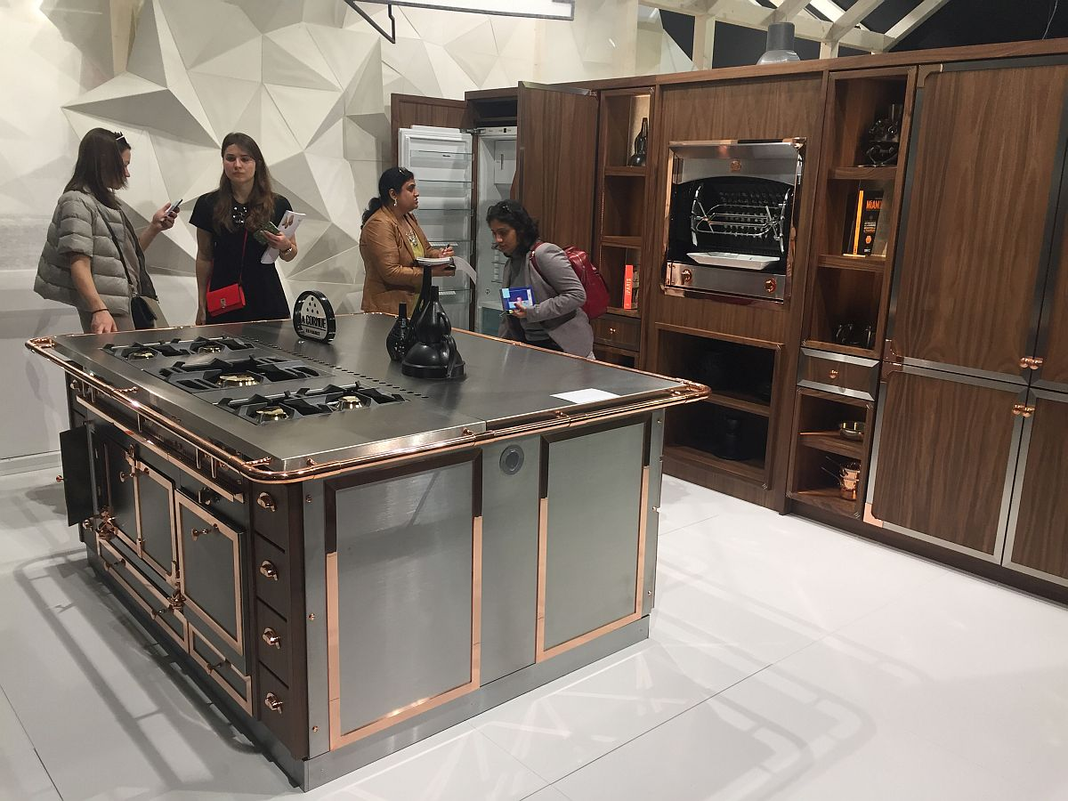 Bespoke and classy kitchen range from La Cornue at EuroCucina 2016