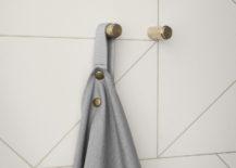 Brass wall hooks from ferm LIVING