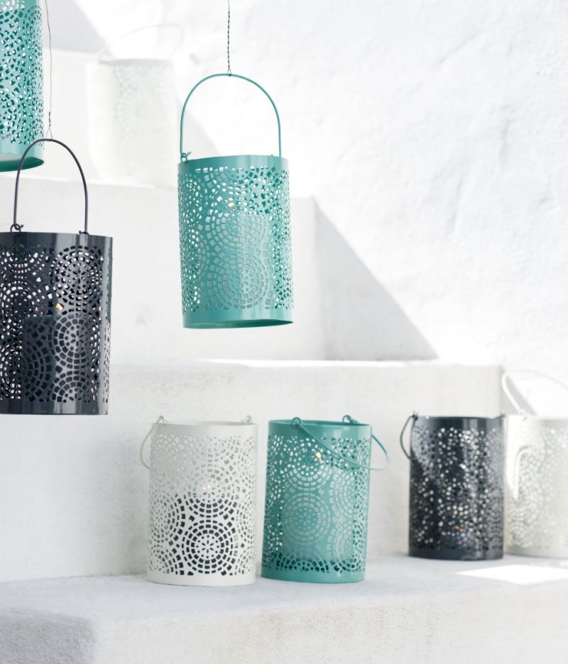 Breezy lanterns from H&M Home