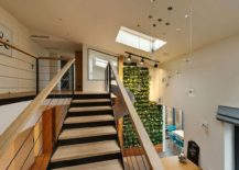 Cascading lighting is perfect next to the staircase and slide
