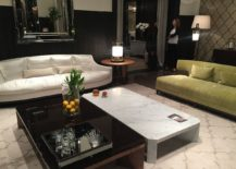 Classic modern living room decor from Bella Vista with plenty of glam