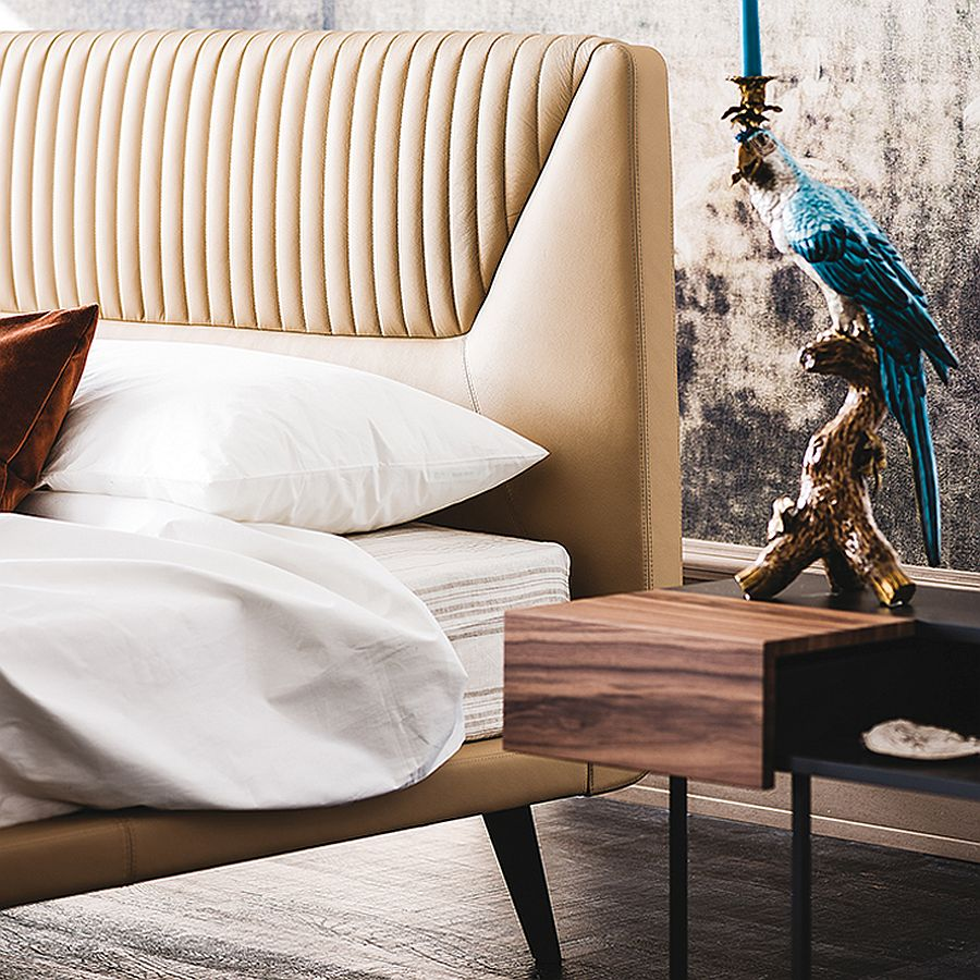 contemporary beds contemporary beds Contemporary Beds for Comfortable and Cozy Bedrooms Closer look at the latest bed from Cattelan Italia Amadeus