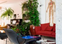 Colorful and lively apartment design in Sao Paulo 217x155 This Smart São Paulo Apartment Intertwines Greenery with Colorful Zest
