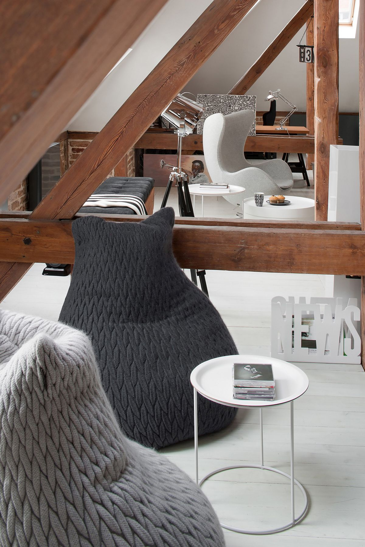 Comfy, custom decor for the stylish apartment in Poznan