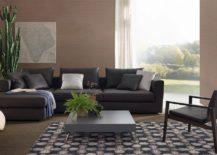 Comfy modular sofa Rene Light from Jesse