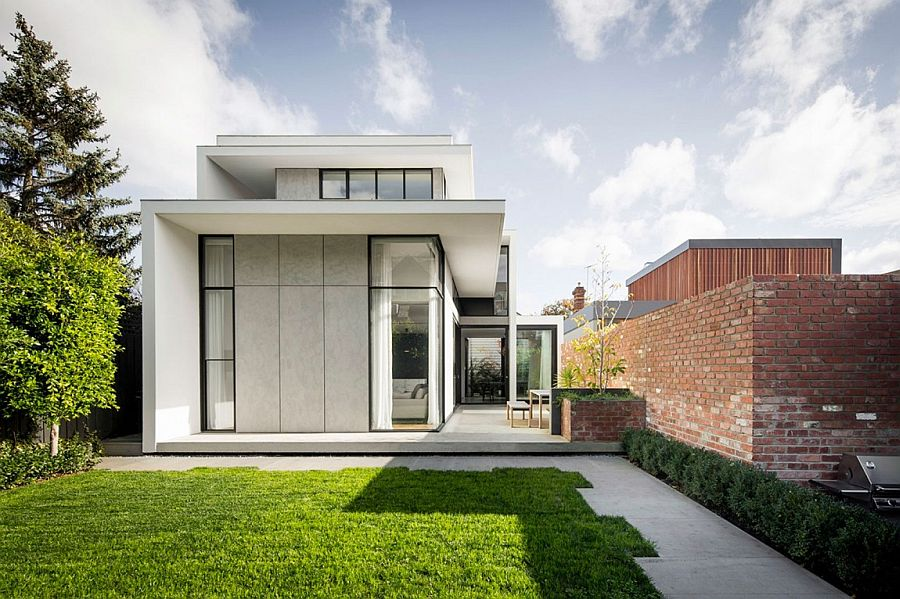 Contemporary rear extension of Victorian home in Armadale, Melbourne, Australia