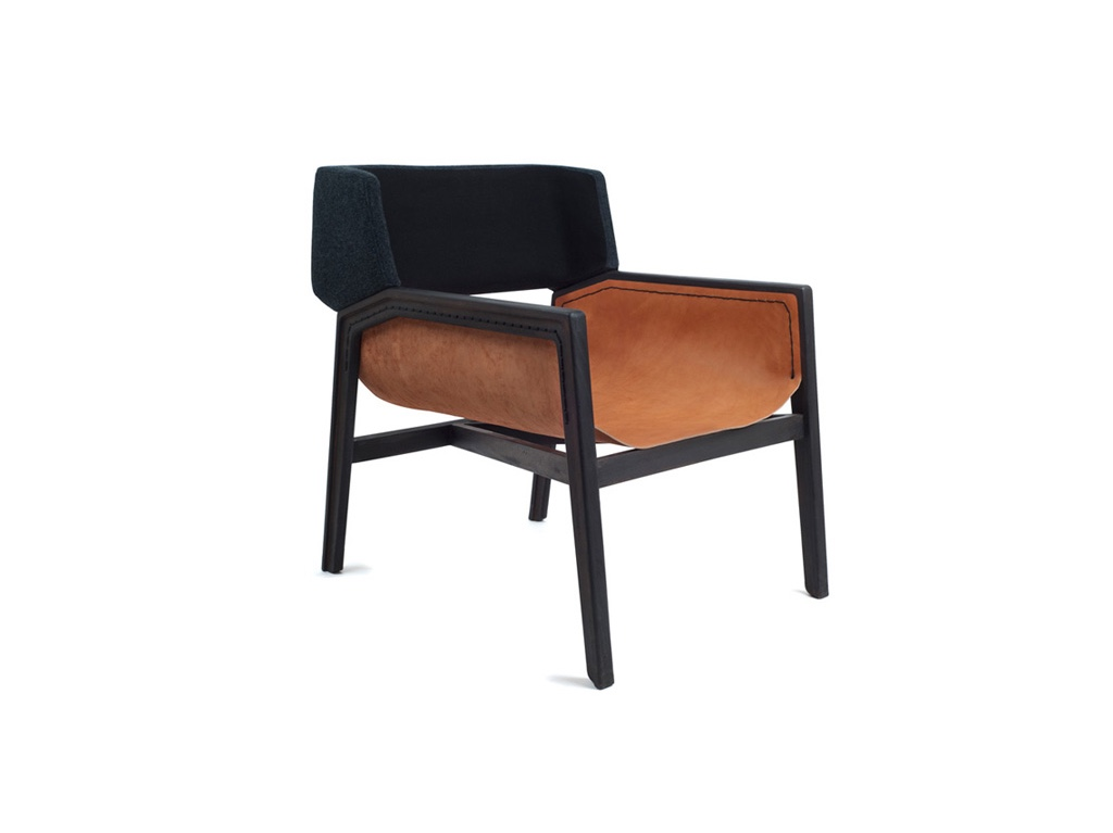Dante Armchair. Firstdesigned as part of the DowntownHotel Project of Grupo Habita in 2012.