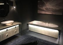 Dark and dashing - Bathroom deisgn inspiration from Salone del Mobile 2016