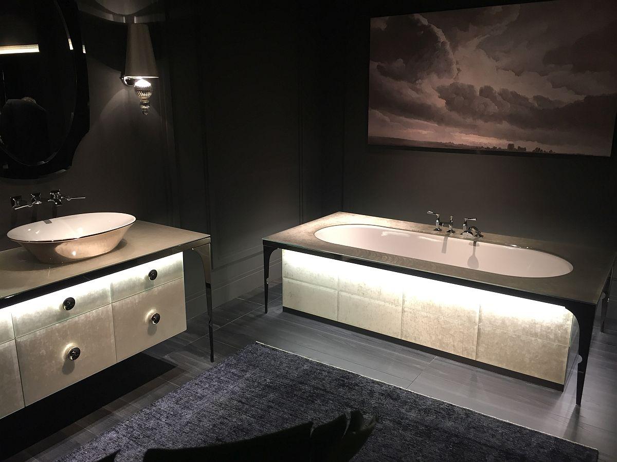 Dark and dashing – Bathroom deisgn inspiration from Salone del Mobile 2016