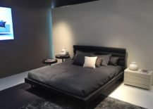 Dark bedroom idea is perfect for the sophisticated bachelor pad