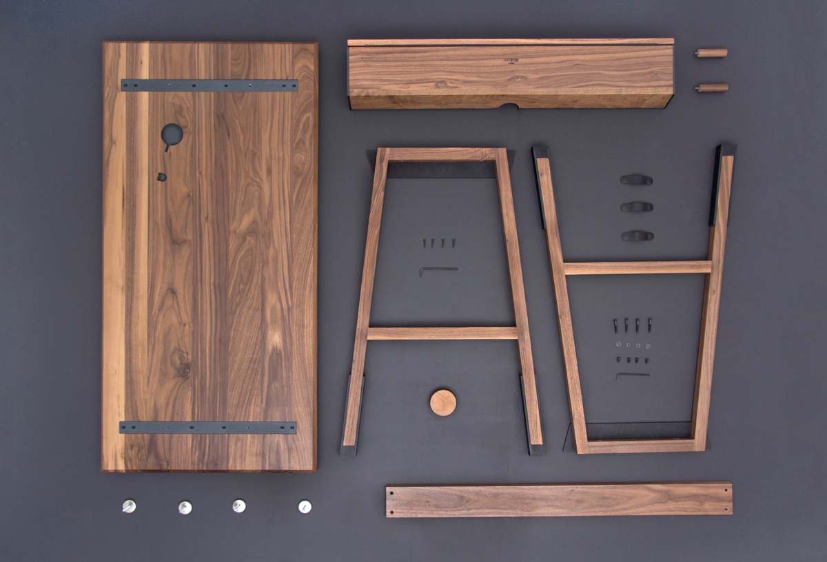 6 examples of high end flat pack furniture designs