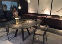 Dining room inspiration from  Alf DaFre and Valdesign at Salone del Mobile 2016