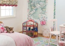 Dreamy and wonderful girls' bedroom seems to have jumped out of a fairytale!
