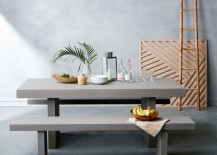 Earthy tropical style from West Elm
