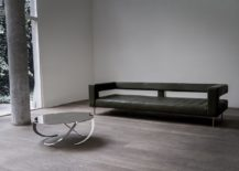 Espiral coffee table and Air sofa