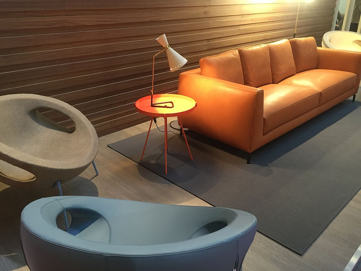 exclusive living room furniture. View in gallery Exclusive living room furniture from Swan adds a playful  element to the 100 Awesome Living Room Ideas Salone del Mobile 2016
