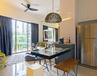 Adaptable Apartment Celebrates Whimsical Touches and Exciting Art Finds
