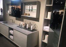 Fabulous modern bathroom vanity by Puntotre