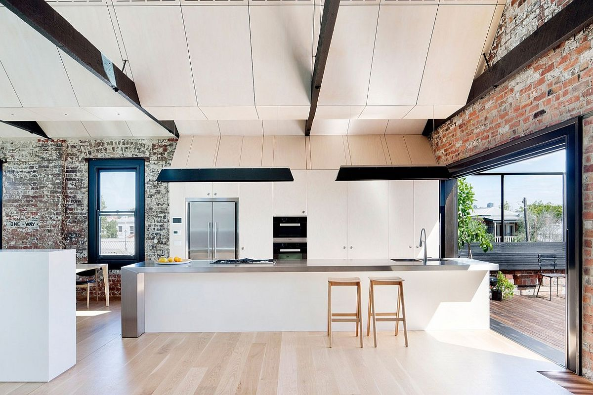 Water Factory: Extended Family House Takes Shape Inside Industrial ...