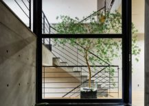 Fabulous way to ensure that greenery is a part of the interior