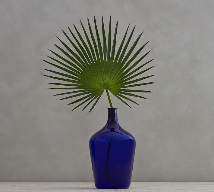 Faux palm leaf from Pottery Barn
