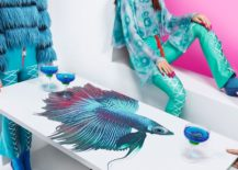 Fish table by Katie Eary for IKEA