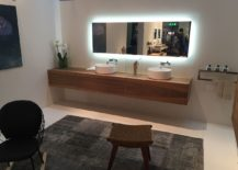 Floating-wooden-vanity-round-sinks-and-LED-strip-lit-mirror-from-ArlexItalia-217x155