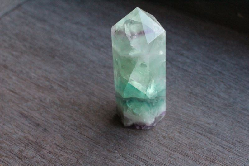 Fluorite obelisk from Etsy shop Lotus